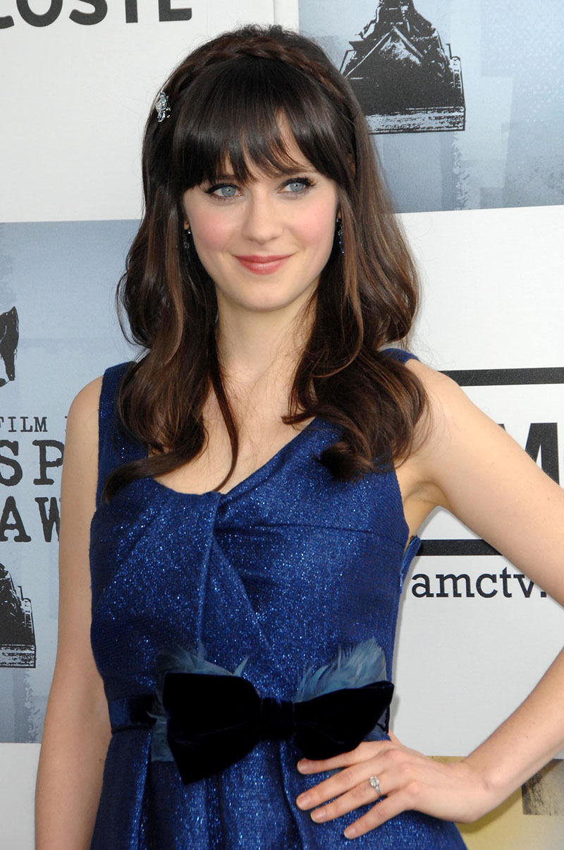 Zooey Deschanel at the 2009 Film Independent's Spirit Awards. Santa Monica Pier, Santa Monica, CA. 02-21-09