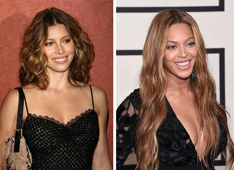 Jessica Biel e Beyonce Bronde Hair