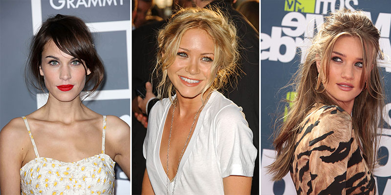 messy hair-Alexa Chung-Mary-Kate Olsen-Rosie Huntington Whiteley