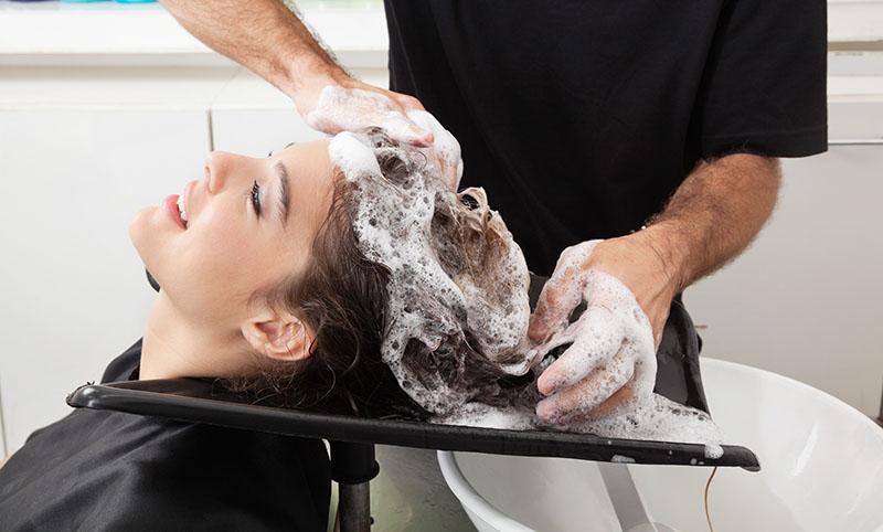 nao deixe de lavar os cabelos