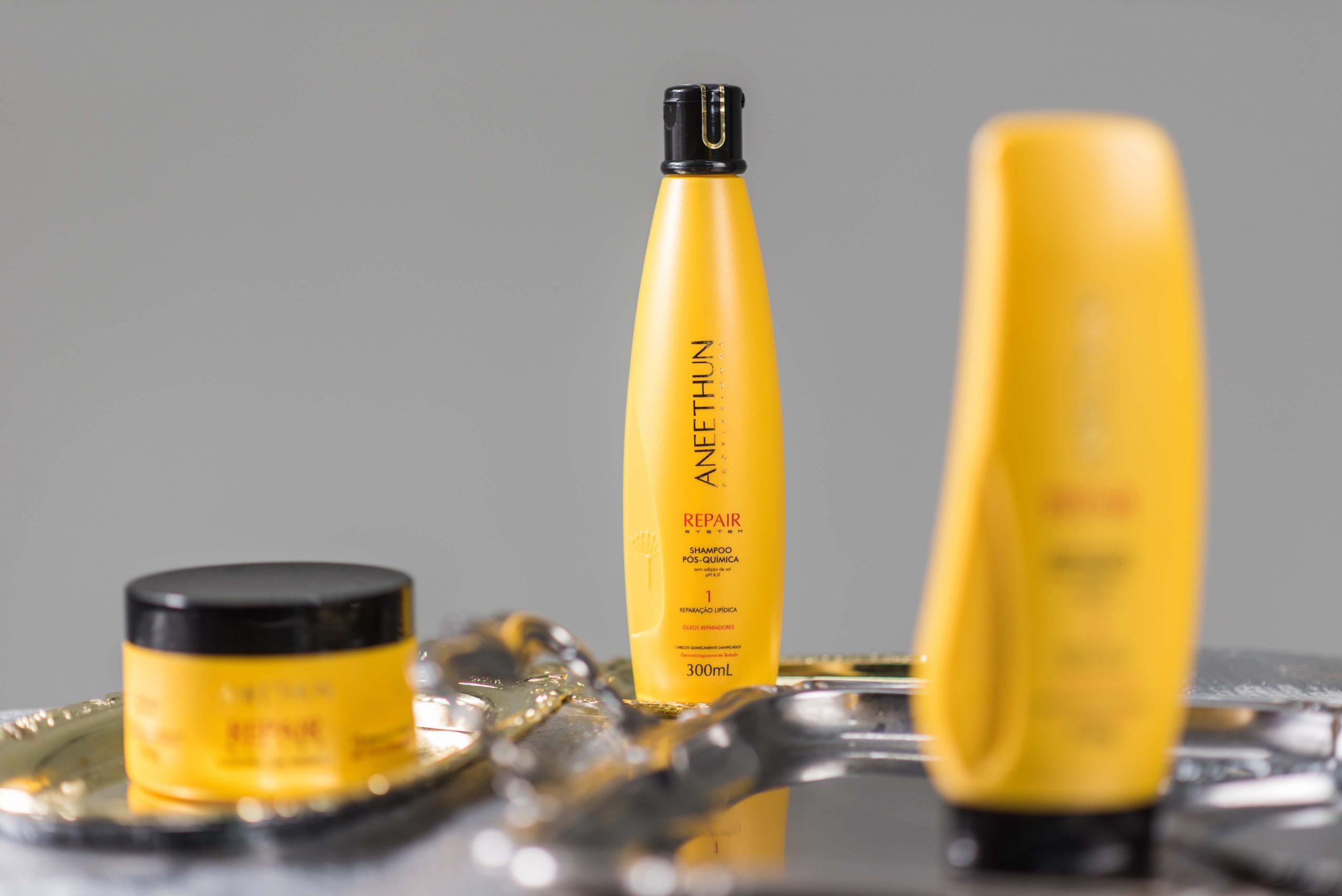 Aneethun repair - shampoo pós quimica