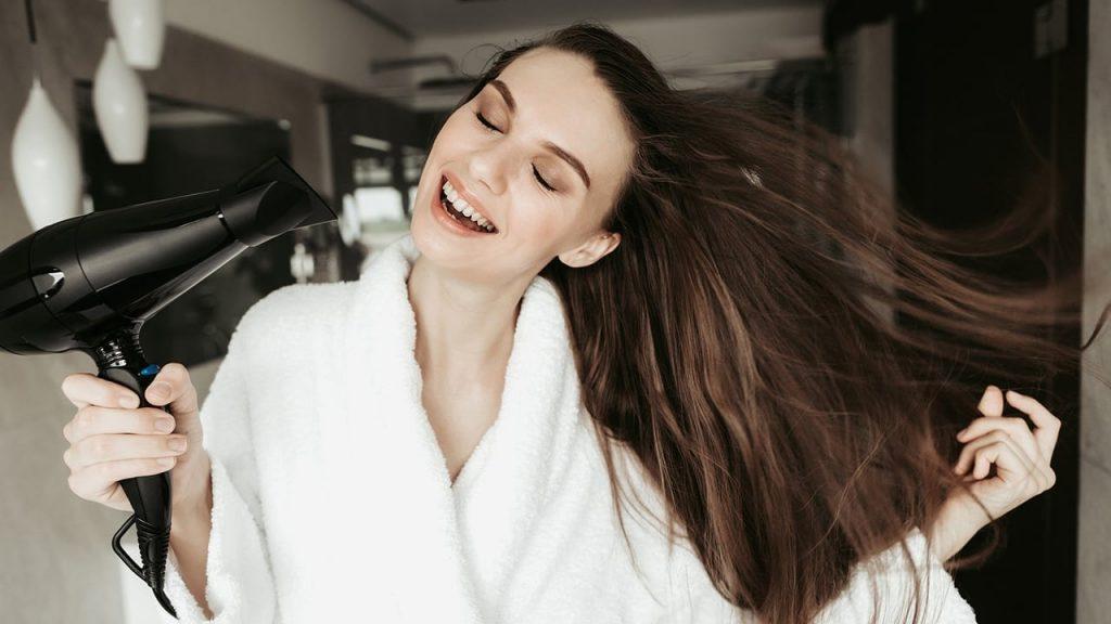 cuidados com cabelo e pele