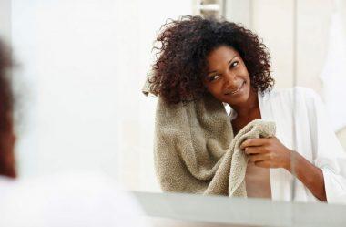 Como secar corretamente cada tipo de cabelo