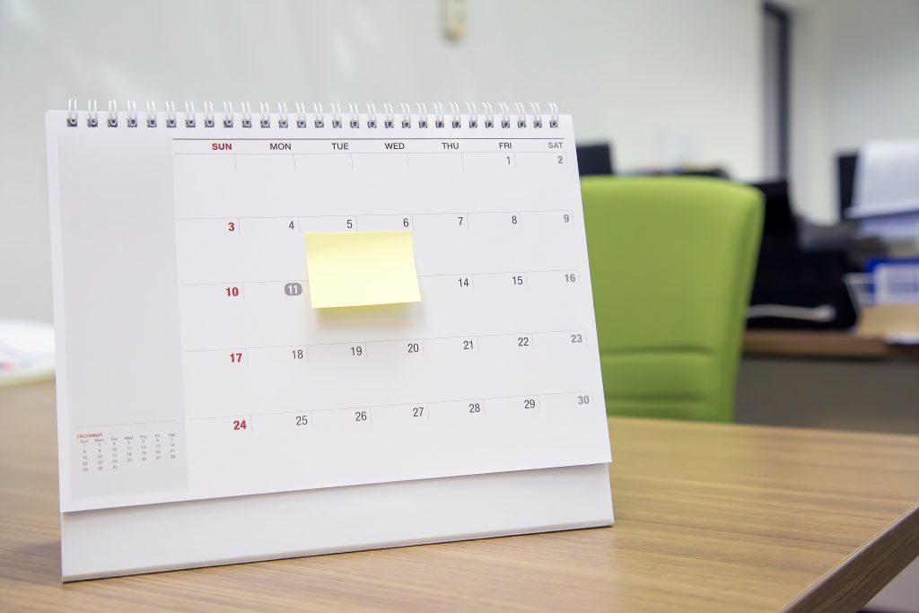 calendário cronograma de transição capilar